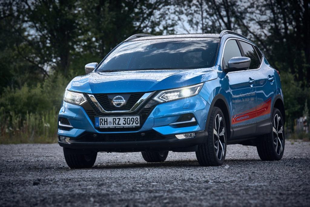 Nissan Qashqai Blau